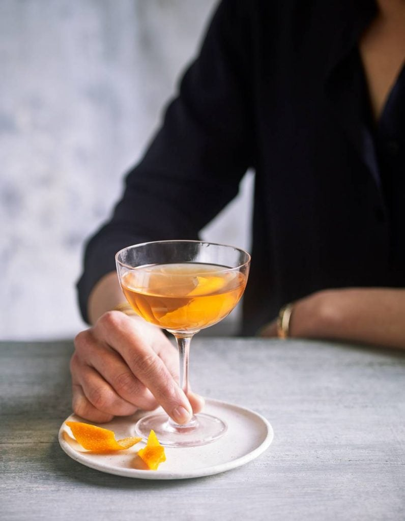 Orange Blossom Sake-Tini Recipe By Eve Kalinik | Nutritional Therapist, Author + Consultant