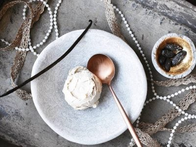 Vanilla and Tonka Bean Ice Cream Recipe By Eve Kalinik | Nutritional Therapist, Author + Consultant