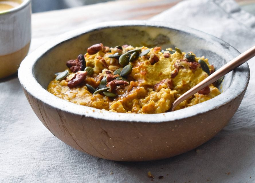 Pumpkin Spice Porridge By Eve Kalinik | Nutritional Therapist, Author + Consultant